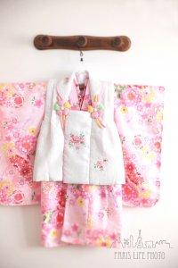 七五三衣装3歳ピンク