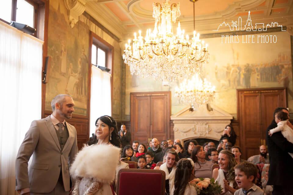 フランス市役所結婚式